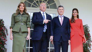 trump recalco el papel de liderazgo de la argentina