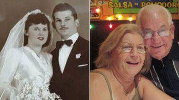 Isaac Vatkin, de 91 años, y Teresa, de 89, eran argentinos. Murieron tomados de la mano en un hospital de Illinois.
