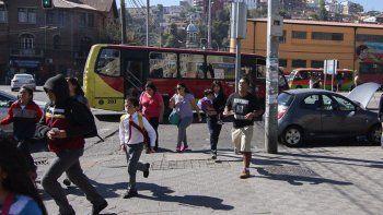 en chile se registraron tres sismos en menos de dos horas