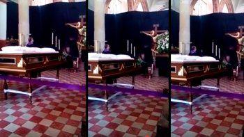 La filmación se viralizó en las redes. ¿Milagro o truco?