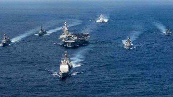 El líder de Corea del Norte dijo que podría destruir al USS Carl Vinson.