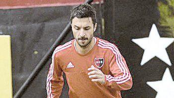 Nacho Scocco, figura en Newells, que sueña con el campeonato.