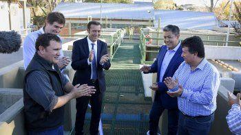 inauguraron la ampliacion de la planta de agua potable