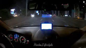 indignacion: en autos de alta gama, se filman en una picada a 240 km/h por todo buenos aires