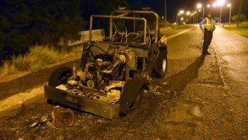exploto un jeep y se sintio un gran estruendo en el centro de la ciudad: no hubo heridos