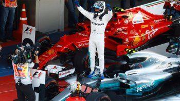 de punta a punta: bottas logro su primer triunfo en la formula uno