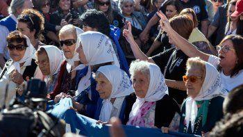 madres conmemoraron sus 40 anos de lucha