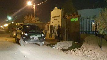 La Policía Federal en el procedimiento realizado en el barrio Otaño.