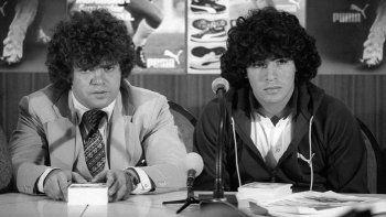 El mensaje de Maradona tras la muerte de Cyterszpiler