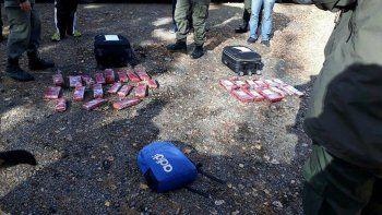 Gendarmería, por su lado, secuestró droga en un micro de larga distancia.