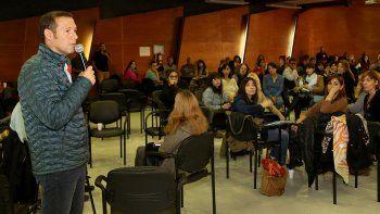 Gutiérrez participó en un encuentro de educación inclusiva