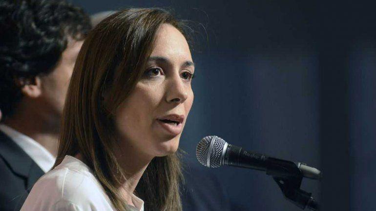 El gobierno de Macri ayudará con un préstamo a María Eugenia Vidal.