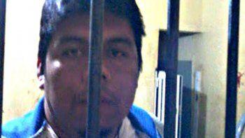 Santillán comenzó la huelga de hambre el domingo en Las Lomitas.