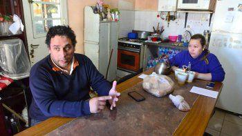 Daniel Lobos, de 44 años, recuperó la libertad después de una semana en la cárcel en la que vivió angustiado.