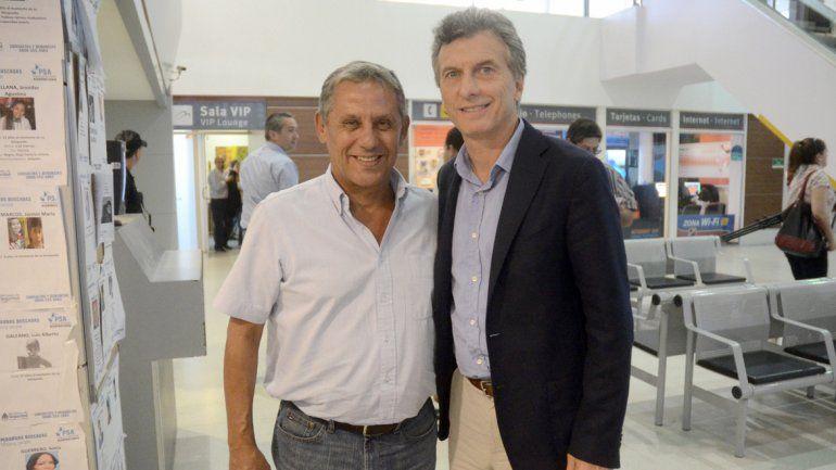 Quiroga y Macri tienen una buena relación desde hace muchos años.