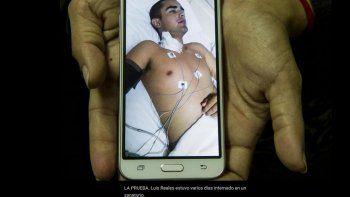 Luis Reales tiene 18 años y abandonó la Escuela de Cadetes de la Policía tucumana por problemas renales. Lo masacraron, dijo su abogado.