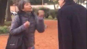 video: una mujer le dijo de todo a guillermo moreno en una plaza