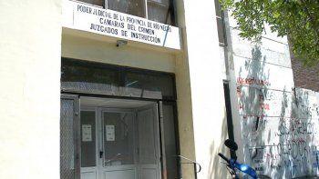 La sede del Poder Judicial en Cipolletti donde se sigue la causa.
