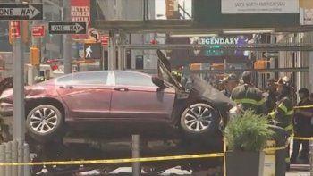 Una neuquina filmó el trágico choque en el Times Square