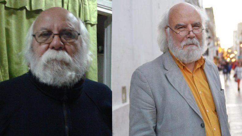 Mario Montenegro (033) dice que su doble es el escritor Juan Sasturain.