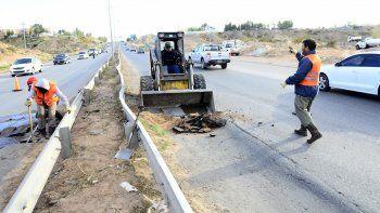 Finalizaron las obras de reparación en un tramo de la Ruta 7