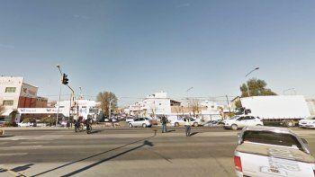 El accidente fue en la esquina de Ruta 22 y La Pampa.