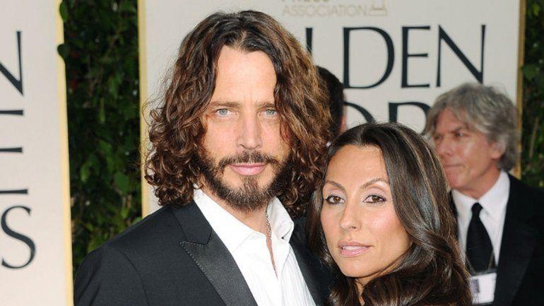 Resultado de imagem para Chris Cornell e esposa
