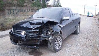tremendo choque frontal: un conductor iba alcoholizado