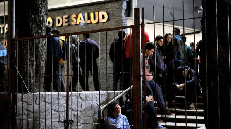 Matías Albornoz iba a la escuela Gymnasium. El presunto asesino tiene 15 años y va al colegio San Lucas.