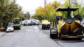 El Municipio capitalino continúa con su plan de repavimentación.