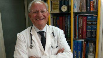 Abel Albino, el médico que está al frente de Conin.