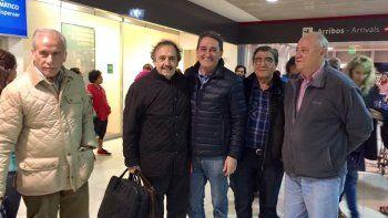 Ricardo Alfonsín llegó a Neuquén en apoyo a Alejandro Vidal.