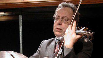 Rafael Gintoli fue distinguido como mejor concertista argentino.