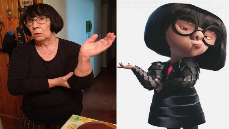 Leticia Larretchart (653) dice que la encuentran parecida a Edna de Los Increíbles.