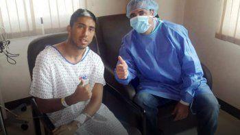 el futbolista neuquino santiago vergara sera trasplantado