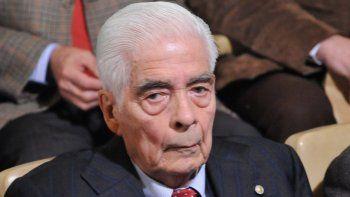 El genocida Luciano B. Menéndez está condenado a cadena perpetua.