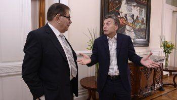 Pereyra y Macri mantienen aceitados vínculos y acuerdos por la situación laboral de los petroleros.