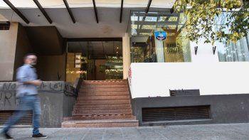 En la sala judicial de Yrigoyen, la fiscalía le formuló los cargos a la mujer.