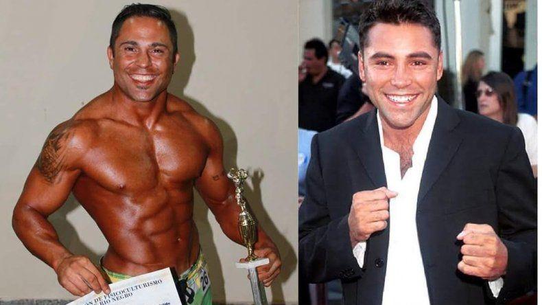 Nicolás Marcelino (DNI 379) es el doble cipoleño del boxeador Oscar De la Hoya