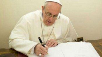 Francisco le envió una carta a Milagro Sala
