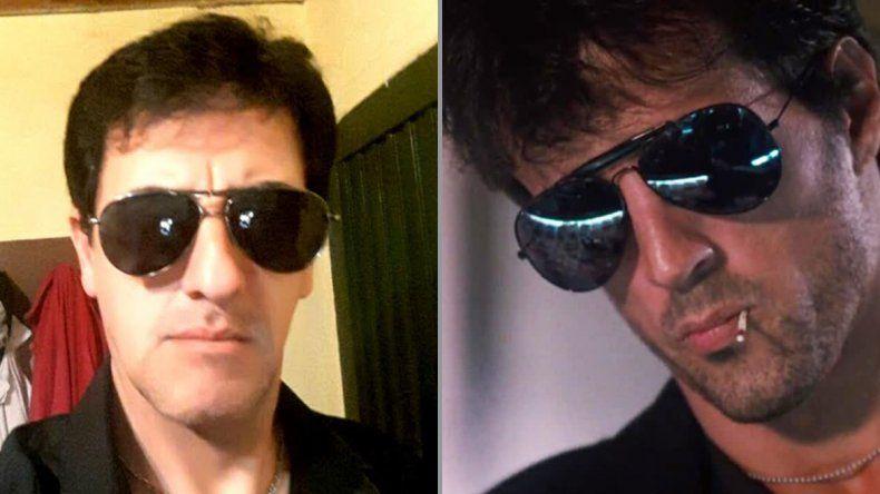 Horacio Martínez 288 es el Sylvester Stallone de su cuadra y acá lo demuestra.