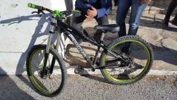 La bicicleta que intentaron vender en Facebook. Foto: gentileza