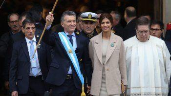 El Presidente, en la celebración de los 207 años de la Revolución de Mayo.