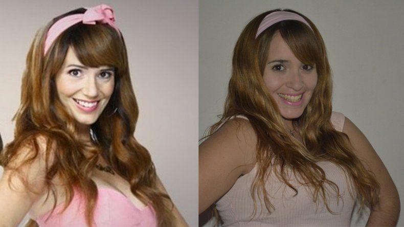 Yanina Agüero (334) cree que es la doble neuquina de Griselda Siciliani.