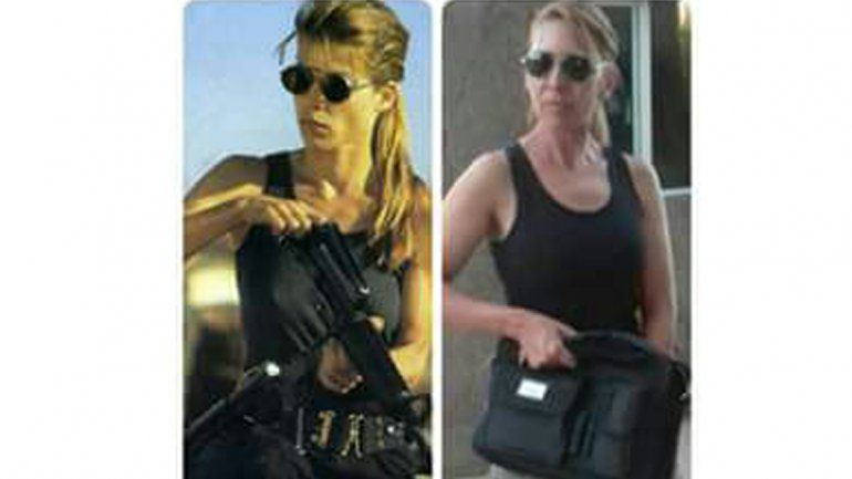 Julia Vanesa dice que es la doble de Sarah Connor.