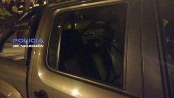 rompieron la ventanilla de una camioneta pero no se robaron nada