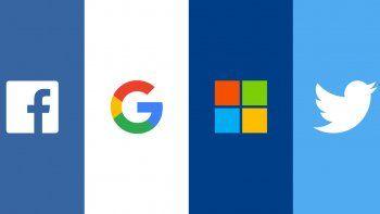 Microsoft, Google y Facebook encabezan el listado de los poderosos.