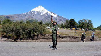 En febrero pasado se detectó actividad en el volcán Lanín.