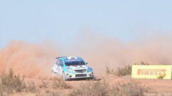 Alejandro Cancio sufre problemas de potencia pero aun así arribó tercero.