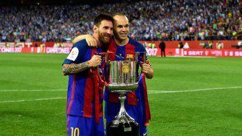 Es la tercera consecutiva que logró el equipo catalán. En 2015 se la ganó a Athletic de Bilbao y el año pasado al Sevilla.